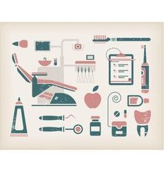Dentist icon vector image