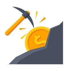 Making Money Icon vector image vector image