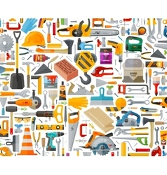 tools set icons signs and symbols vector image