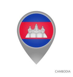 Cambodia point vector
