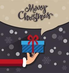 Christmas present vector