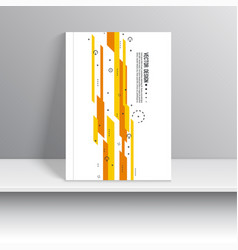 cover for journal vector image