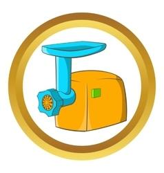 Electric grinder icon vector