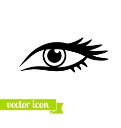 Eye icon 4 vector image