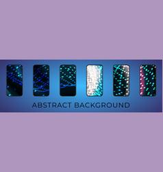 futuristic techno abstract background neon vector image