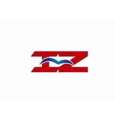 iZ company logo vector image