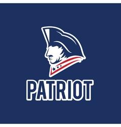Patriot design template vector