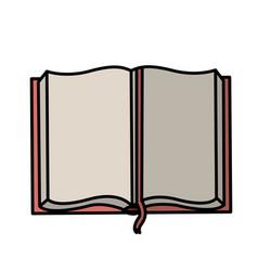 text book school icon vector image