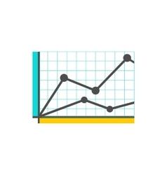 Analysis Stock Exchange Rates on Monitors vector