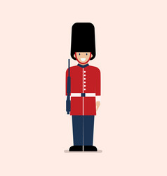 british army soldier vector image