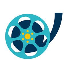 Movie film reel vector