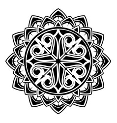 scandinavian tattoo 0005 vector image