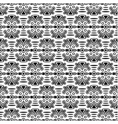 seamless stylish texture with ancient style vector image