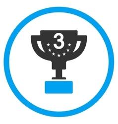 Third prize icon vector