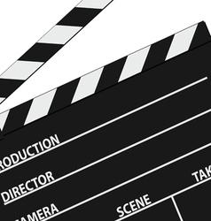 film tape symbol black vector image vector image