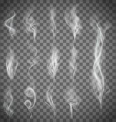 Gray smoke stock vector