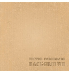 Cardboard grunge paper texture background vector image