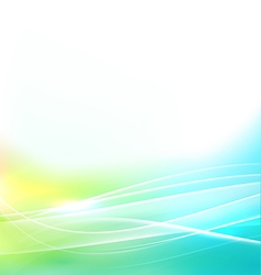 abstract bright and smooth flow background vector image vector image