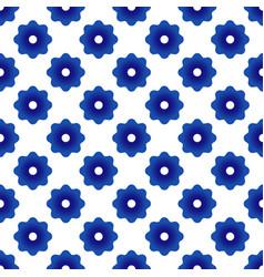 cute flower pattern vector image