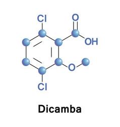 Dicamba broad-spectrum herbicide vector