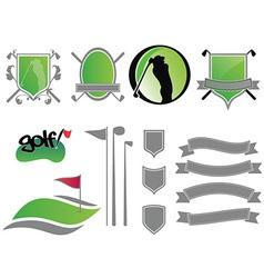 Golf logos vector
