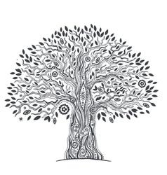 Unique ethnic tree life vector