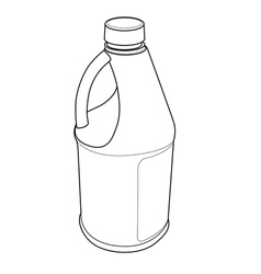Chemical Bottle vector image vector image