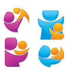 Family emblems vector