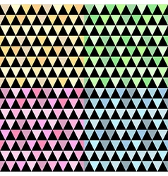 pattern geometric pyramid vector image