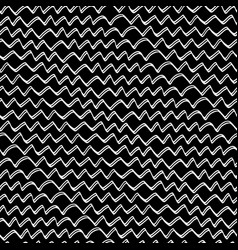 abstract hand drawn zig-zag-08 vector image