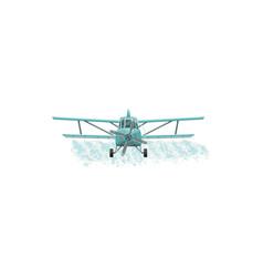 Aerial pest control pesticide fumigation agrarian vector