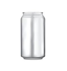 Aluminium can vector