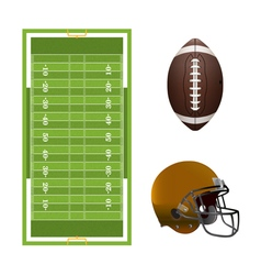 American Football Elements vector