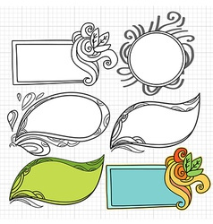 DoodlesFlmeArt vector image