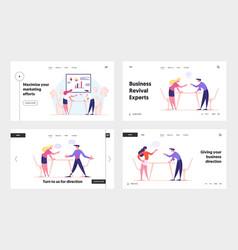 fight for leadership work conflict between vector image