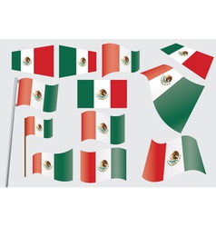 Flag of Mexico vector