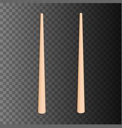 food chopsticks set vector image