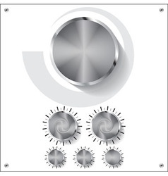 Volume knob control vector