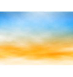 Light sky vector image vector image