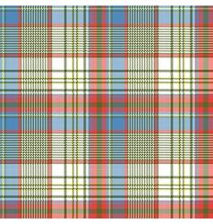 Plaid fabric texture square pixels shirt seamless vector