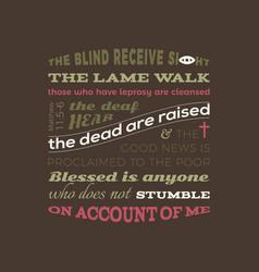 Bible quote from matthew 11 vector