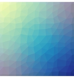 Blue triangle geometric texture background vector