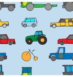 Car Seamless vector