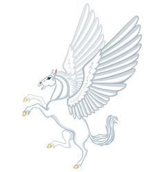 Cartoon Pegasus vector