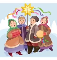 Christmas songs vector