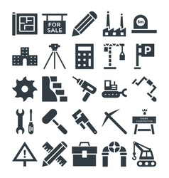 Construction Cool Icons 4 vector