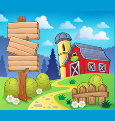 Farm theme image 8 vector
