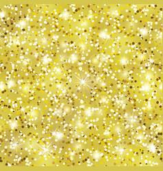 gold glitter seamless pattern golden dust texture vector image