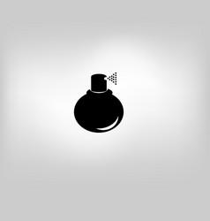 Icon perfume vector