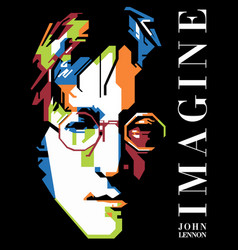 John lennon imagine vector